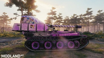Anime Skin New Game (G.W.Panther) Tier 7 0.1 [1.0.1.1], 3 photo